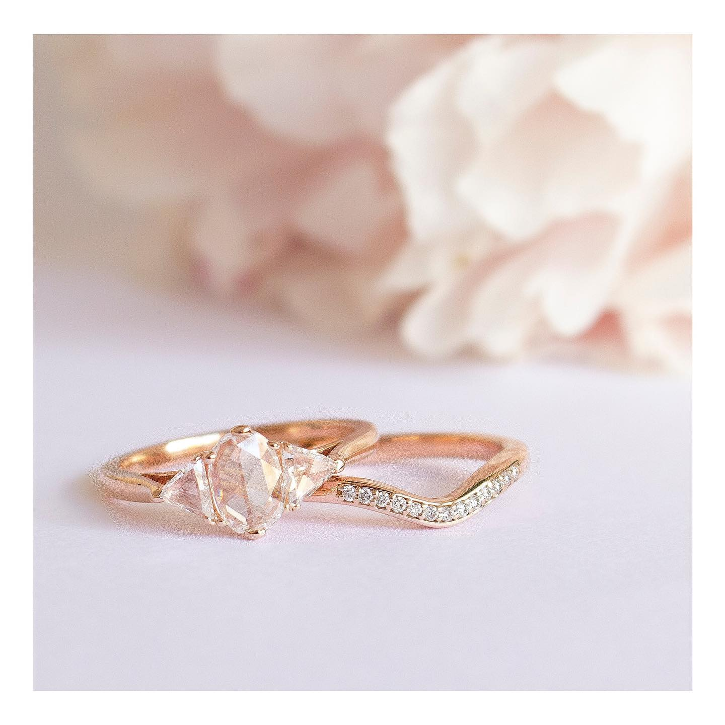 ethical engagement and wedding rings by Taylor and Hart