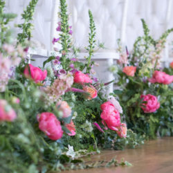 A floral dream full of peonies at Botleys Mansion