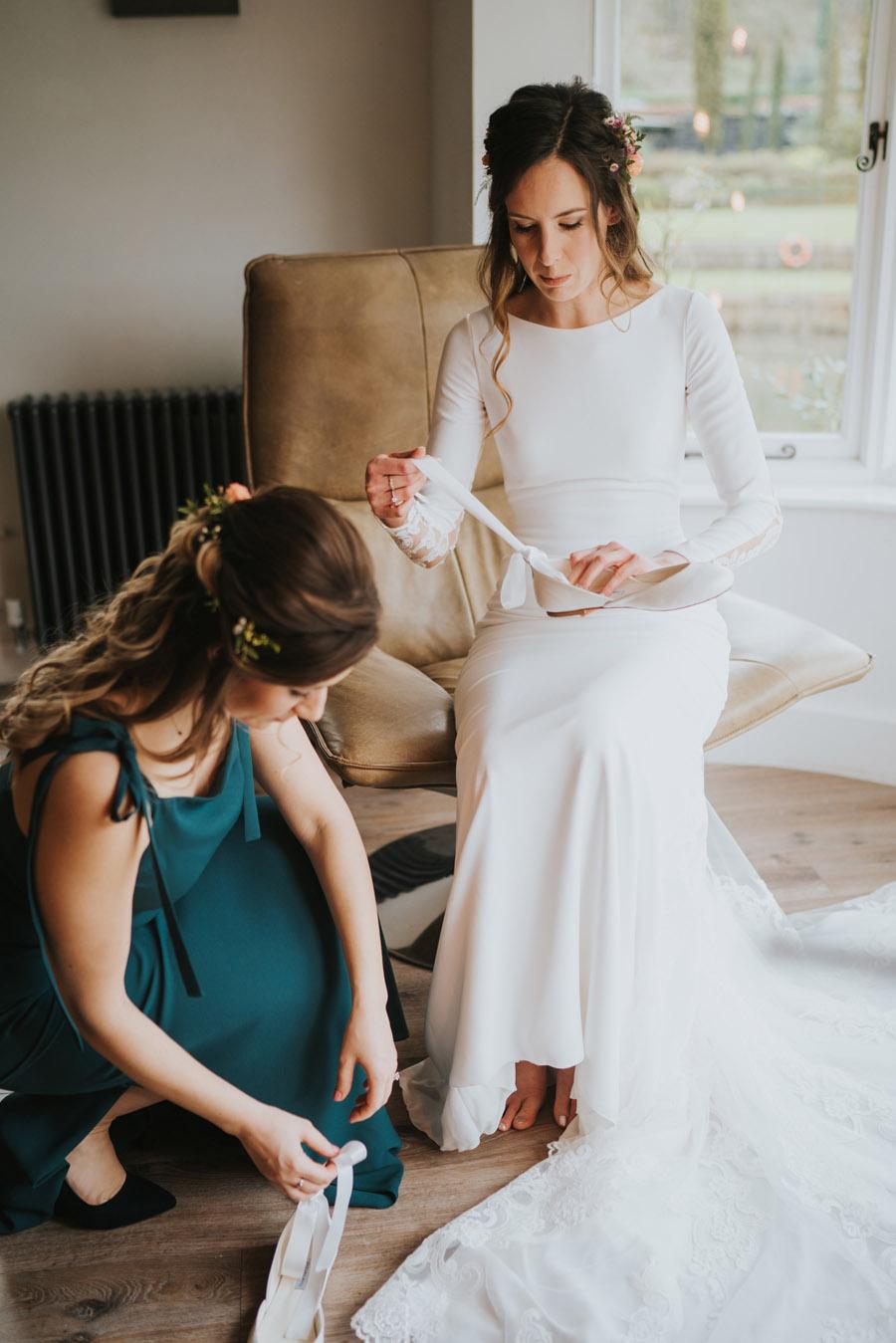 Chloe & Michael's beautiful Maison Talbooth wedding, with Grace Elizabeth (9)