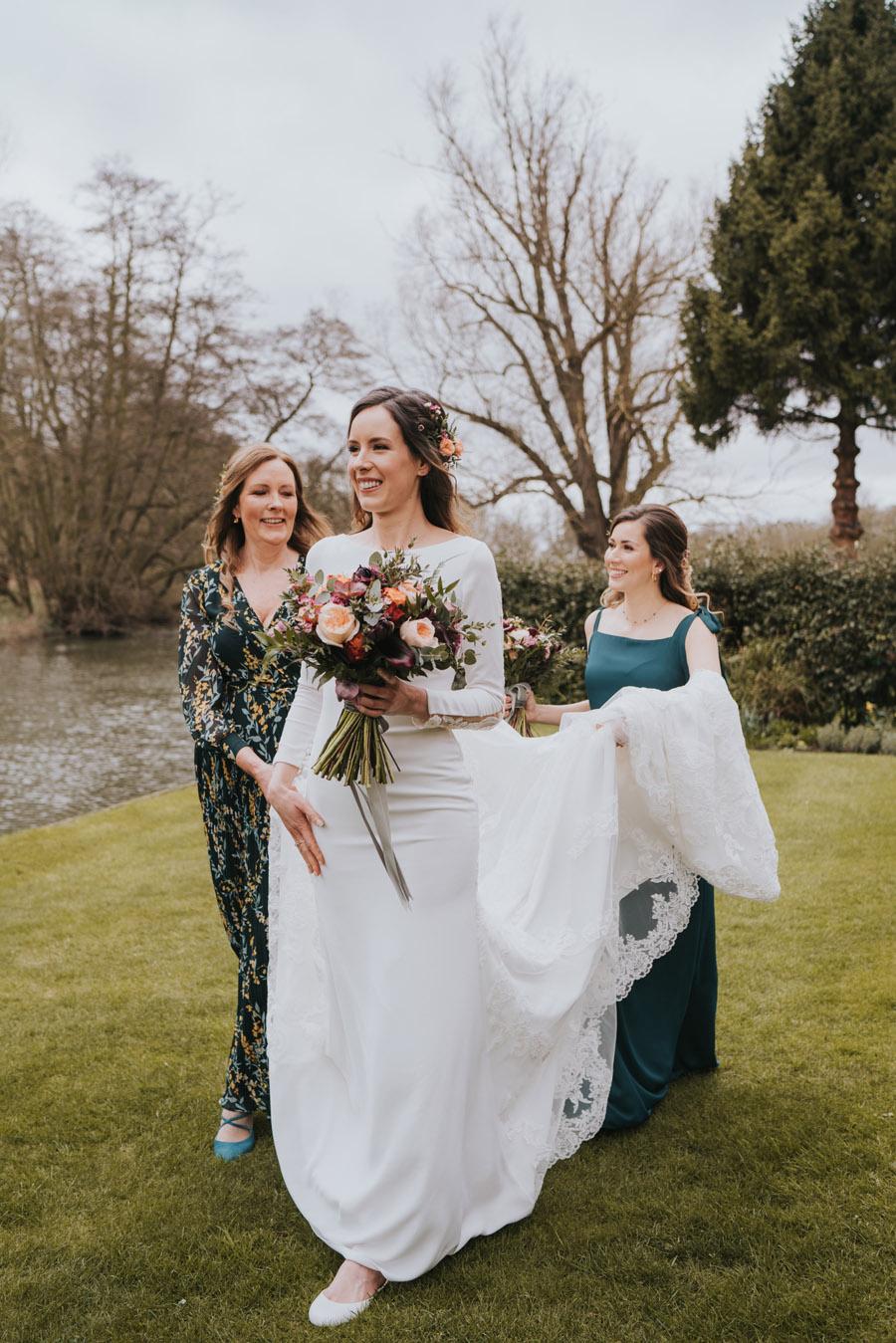 Chloe & Michael's beautiful Maison Talbooth wedding, with Grace Elizabeth (12)