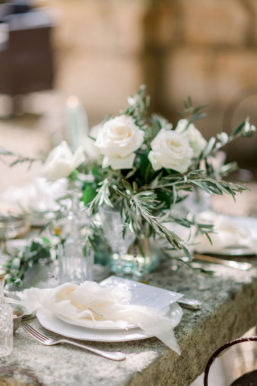 Soft blue tones for a French Chateau wedding style, with Jo Bradbury Photography (8)