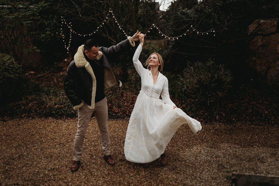 Enchanted garden vintage elopement with Thyme Lane Photography (10)