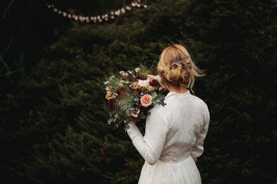 Enchanted garden vintage elopement with Thyme Lane Photography (13)
