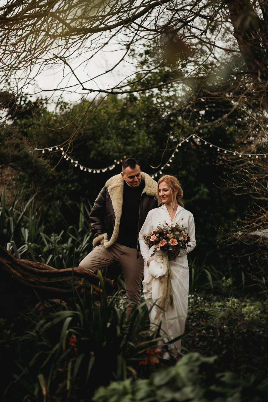 Enchanted garden vintage elopement with Thyme Lane Photography (17)