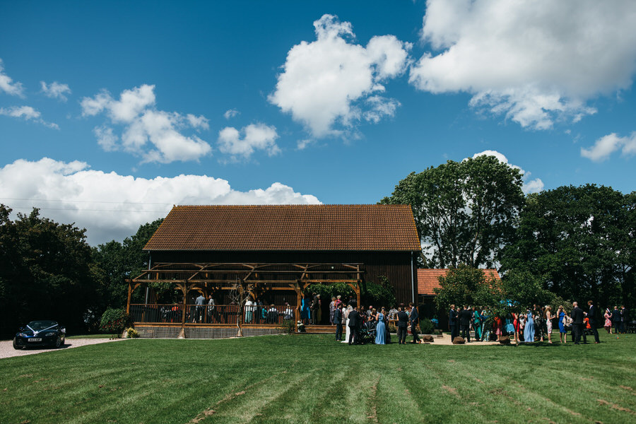 Kirsty & Ben's laid back rustic wedding at Froginwell vineyard, with Simon Biffen Photography (23)