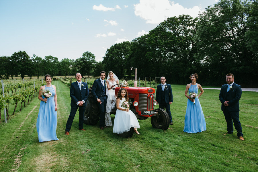 Kirsty & Ben's laid back rustic wedding at Froginwell vineyard, with Simon Biffen Photography (26)