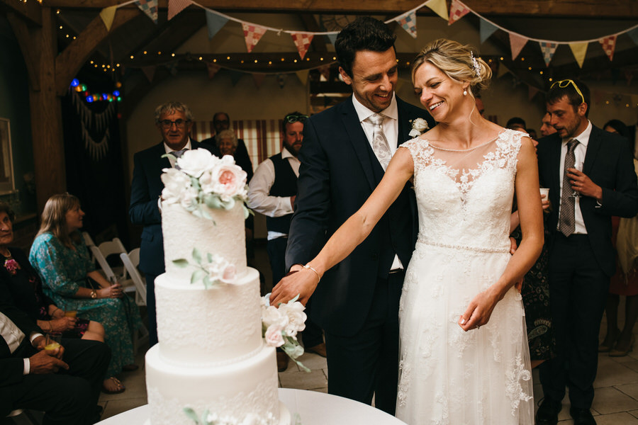 Kirsty & Ben's laid back rustic wedding at Froginwell vineyard, with Simon Biffen Photography (37)