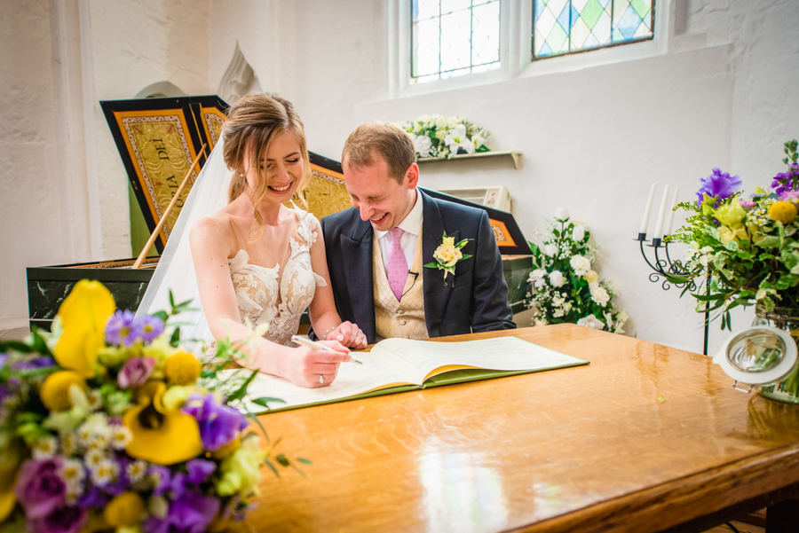David and Valerie's gorgeous English garden wedding, with GK Photography (6)