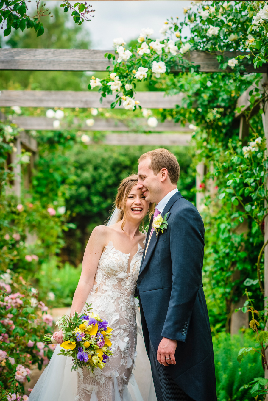 David and Valerie's gorgeous English garden wedding, with GK Photography (18)