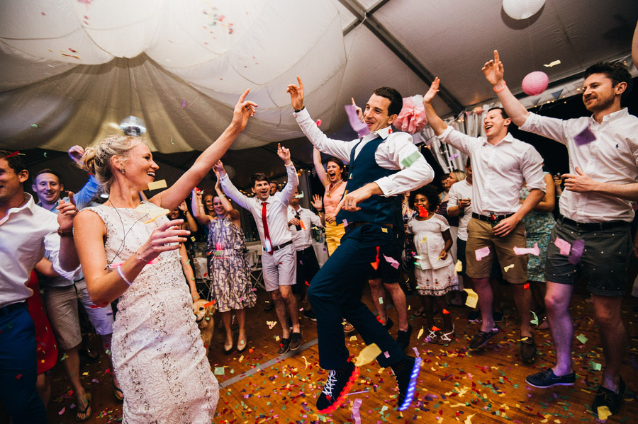 epic groom first dance moves, image by Simon Biffen Photography