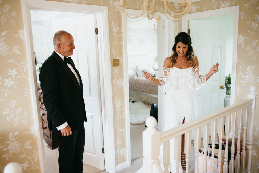 Super elegant and sophisticated black tie wedding in Hertfordshire, photographer credit Simon Biffen Photography (13)