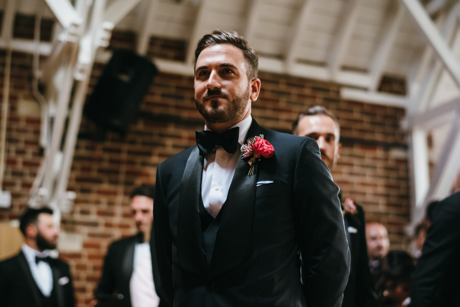 Super elegant and sophisticated black tie wedding in Hertfordshire, photographer credit Simon Biffen Photography (18)