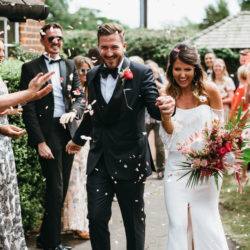 Charlotte & Alex's unique and eclectic marquee wedding, with Simon Biffen Photography