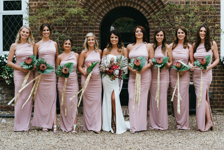 Super elegant and sophisticated black tie wedding in Hertfordshire, photographer credit Simon Biffen Photography (38)