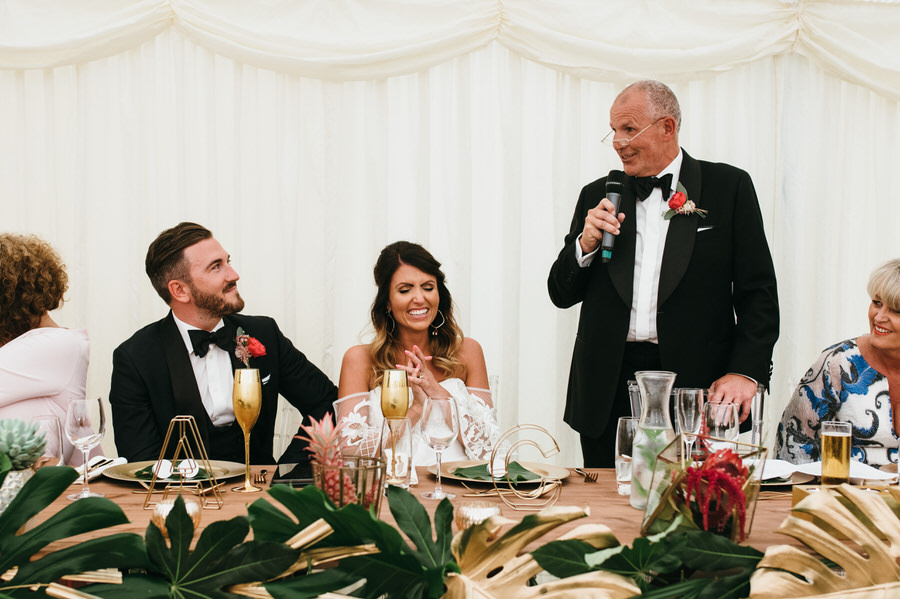 Super elegant and sophisticated black tie wedding in Hertfordshire, photographer credit Simon Biffen Photography (42)