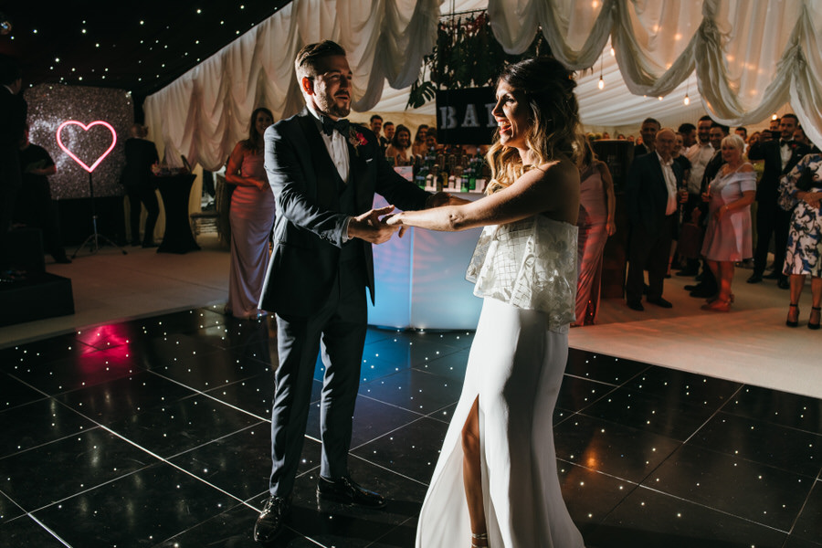 Super elegant and sophisticated black tie wedding in Hertfordshire, photographer credit Simon Biffen Photography (46)