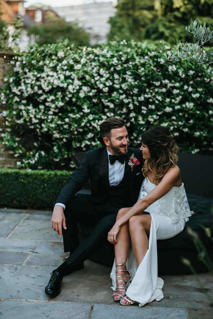 Super elegant and sophisticated black tie wedding in Hertfordshire, photographer credit Simon Biffen Photography (3)