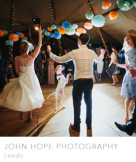 John Hope wedding photographer Leeds UK and destination