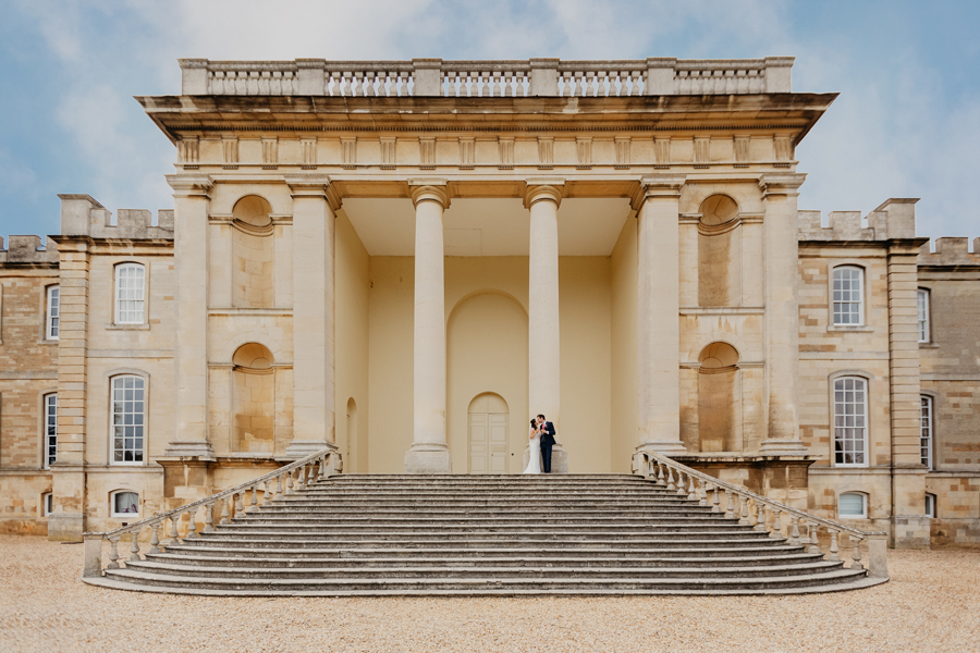 Kimbolton Castle wedding by October James Photography