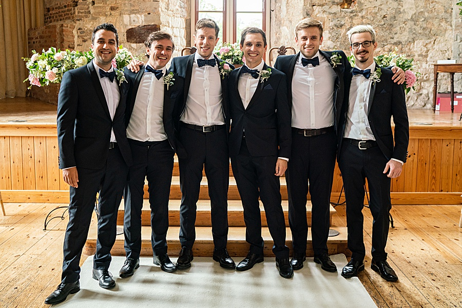Emily & Joe's timeless and classic Lulworth Castle wedding, with Linus Moran Photography (12)
