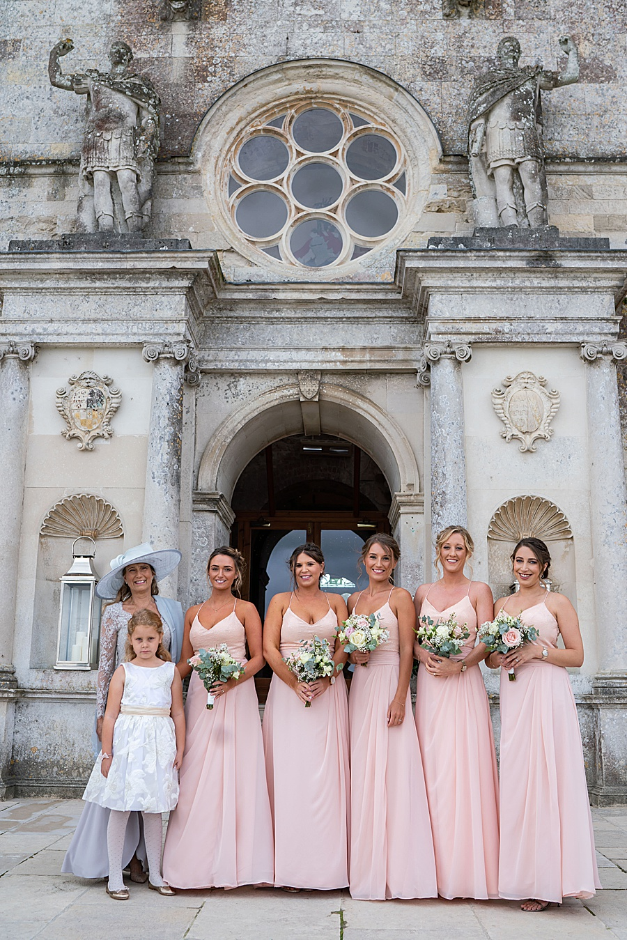 Emily & Joe's timeless and classic Lulworth Castle wedding, with Linus Moran Photography (15)