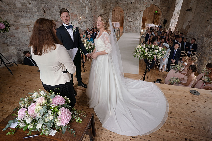 Emily & Joe's timeless and classic Lulworth Castle wedding, with Linus Moran Photography (26)
