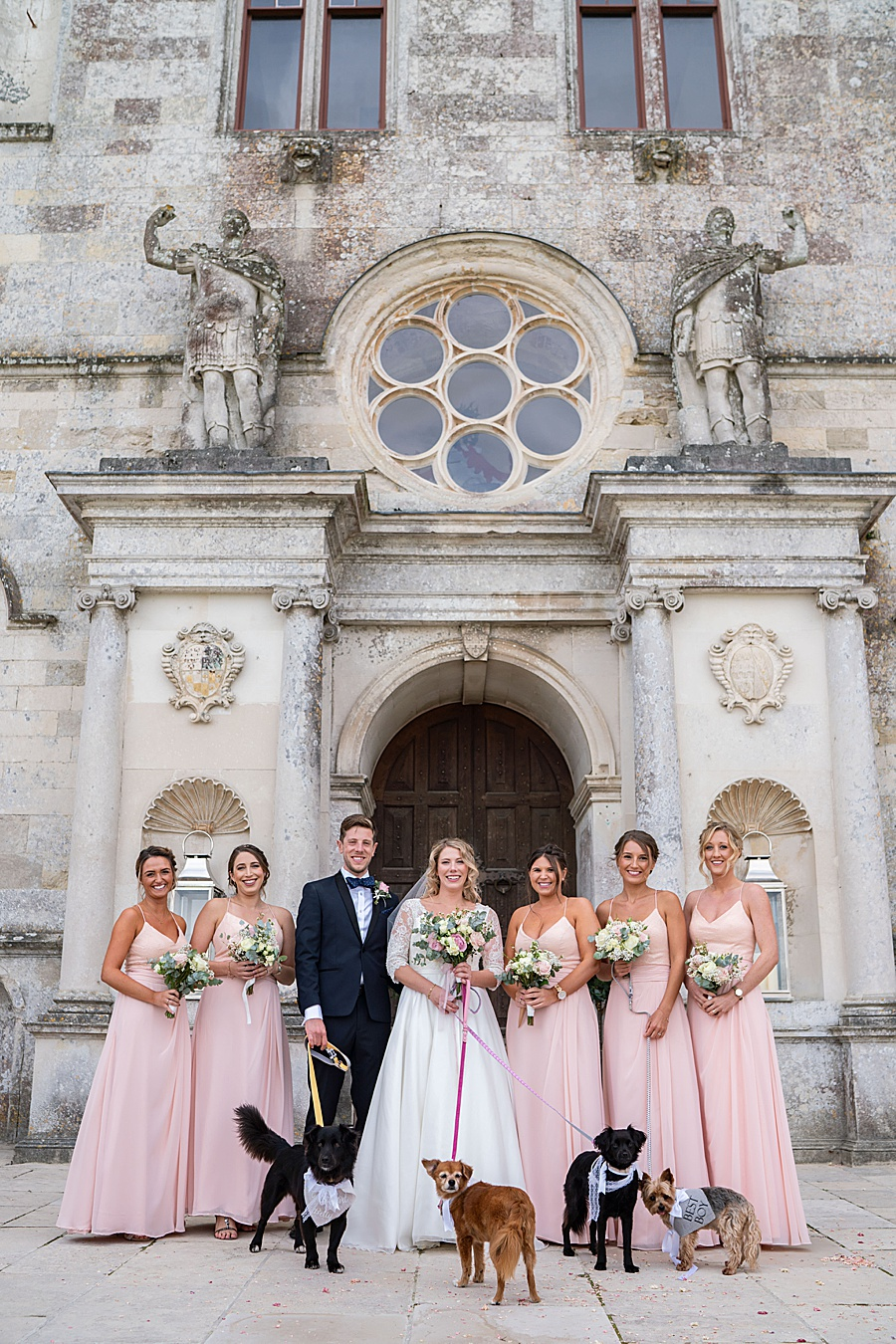 Emily & Joe's timeless and classic Lulworth Castle wedding, with Linus Moran Photography (33)