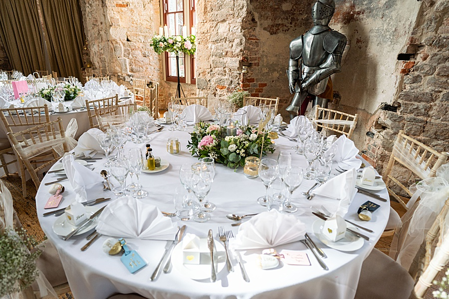 Emily & Joe's timeless and classic Lulworth Castle wedding, with Linus Moran Photography (34)