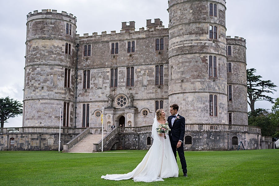 Emily & Joe's timeless and classic Lulworth Castle wedding, with Linus Moran Photography (39)