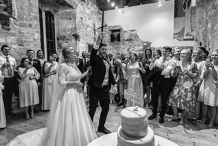 Emily & Joe's timeless and classic Lulworth Castle wedding, with Linus Moran Photography (44)