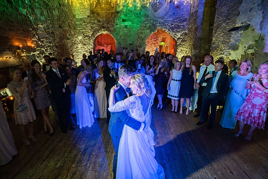 Emily & Joe's timeless and classic Lulworth Castle wedding, with Linus Moran Photography (45)