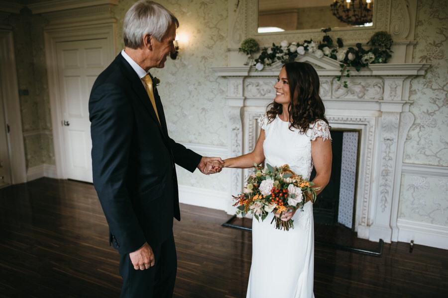 James & Sarah's chic, modern Morden Hall wedding, with Simon Biffen Photography (15)