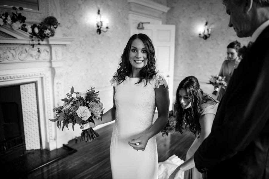 James & Sarah's chic, modern Morden Hall wedding, with Simon Biffen Photography (17)