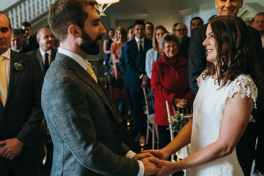 James & Sarah's chic, modern Morden Hall wedding, with Simon Biffen Photography (19)
