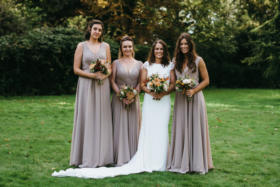 James & Sarah's chic, modern Morden Hall wedding, with Simon Biffen Photography (23)