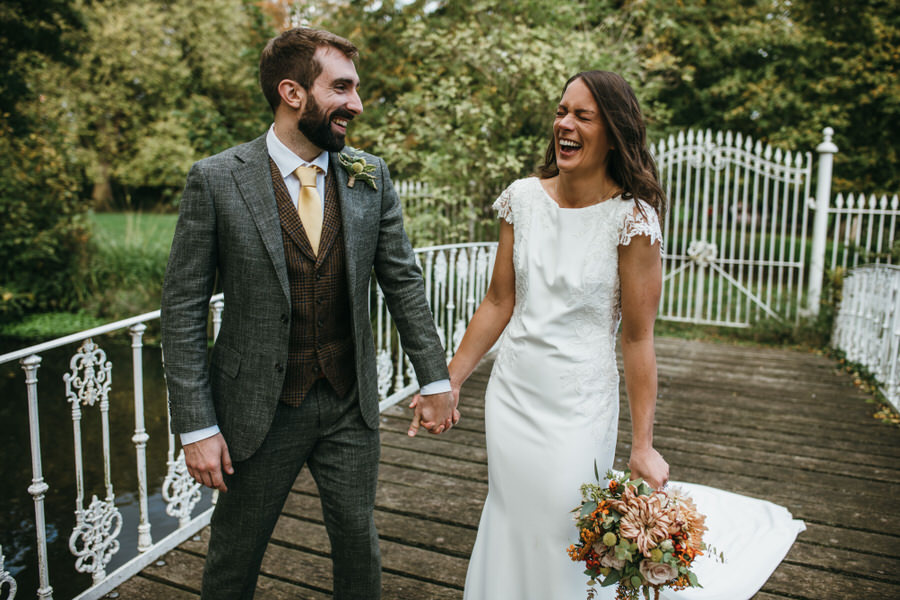 James & Sarah's chic, modern Morden Hall wedding, with Simon Biffen Photography (28)