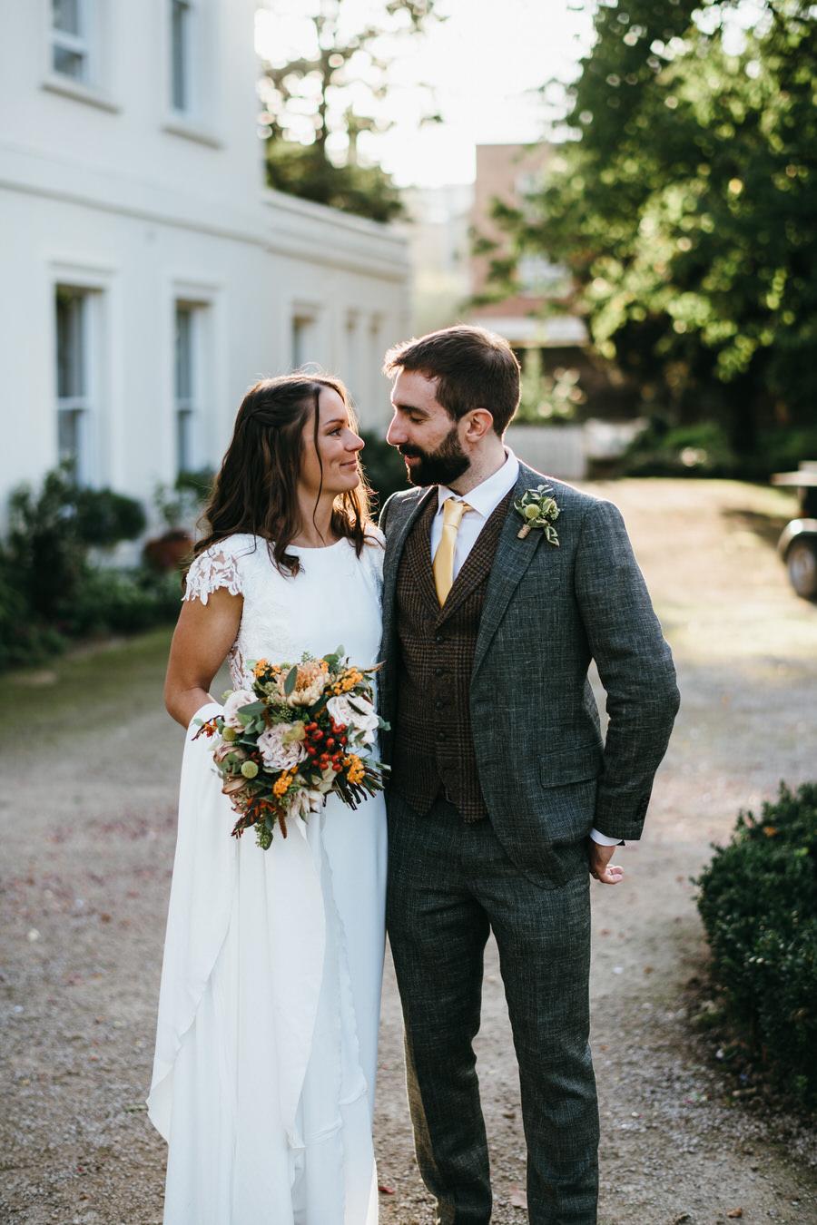 James & Sarah's chic, modern Morden Hall wedding, with Simon Biffen Photography (38)