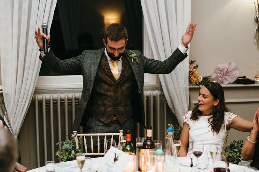 James & Sarah's chic, modern Morden Hall wedding, with Simon Biffen Photography (41)