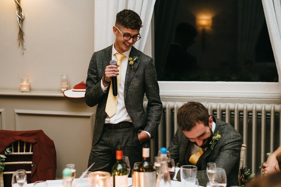 James & Sarah's chic, modern Morden Hall wedding, with Simon Biffen Photography (42)