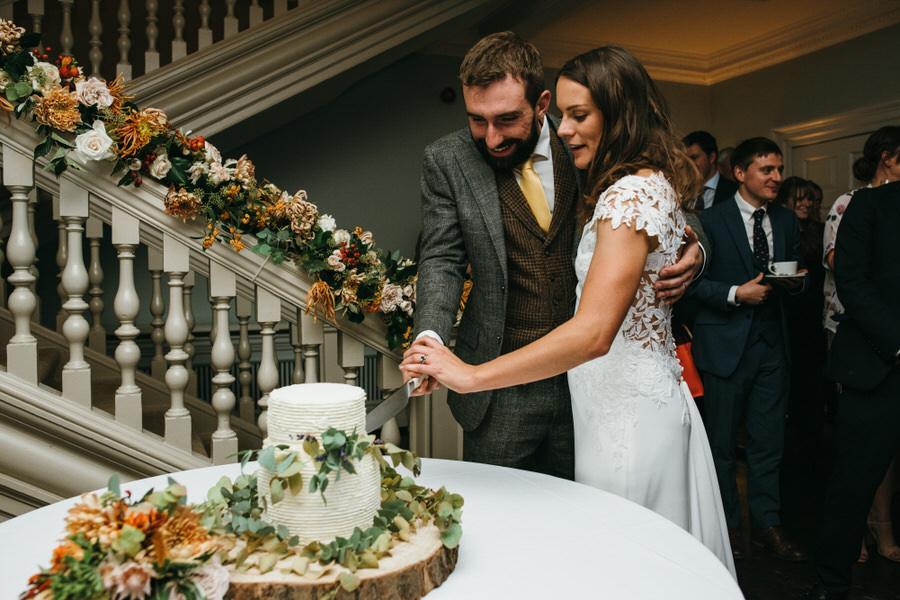 James & Sarah's chic, modern Morden Hall wedding, with Simon Biffen Photography (43)