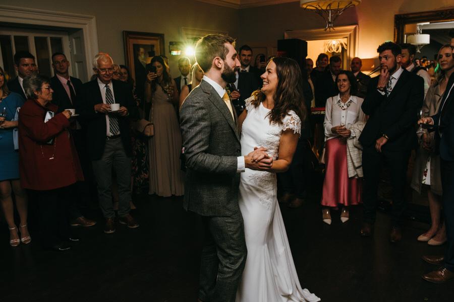 James & Sarah's chic, modern Morden Hall wedding, with Simon Biffen Photography (44)