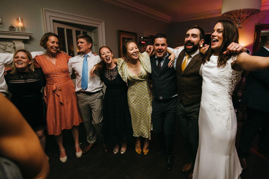 James & Sarah's chic, modern Morden Hall wedding, with Simon Biffen Photography (53)