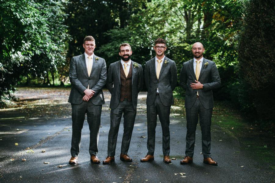 James & Sarah's chic, modern Morden Hall wedding, with Simon Biffen Photography (9)