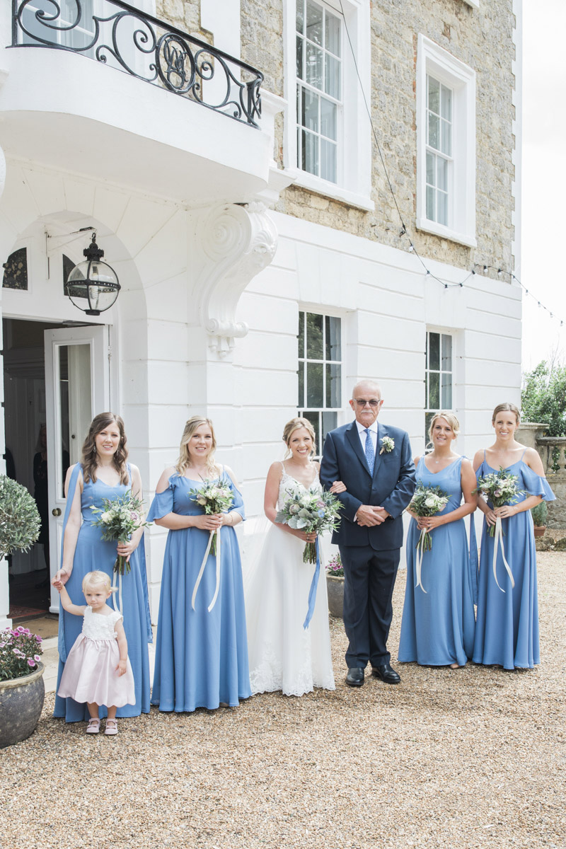 Hannah & Mark's elegant rustic Oxon Hoath wedding, with Natalie D Photography (16)