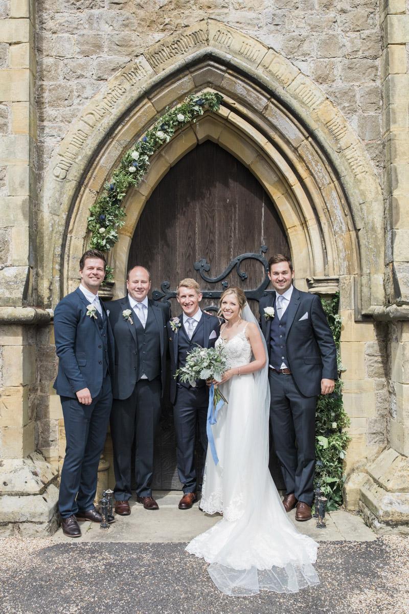 Hannah & Mark's elegant rustic Oxon Hoath wedding, with Natalie D Photography (23)