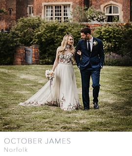 Norfolk and UK wedding photographers October James
