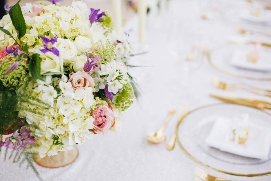Light and romance with natural blush tones - wedding ideas from Downham Hall. Photographer credit Magical Moments Photography (6)