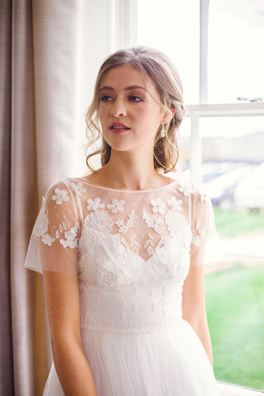 Light and romance with natural blush tones - wedding ideas from Downham Hall. Photographer credit Magical Moments Photography (12)