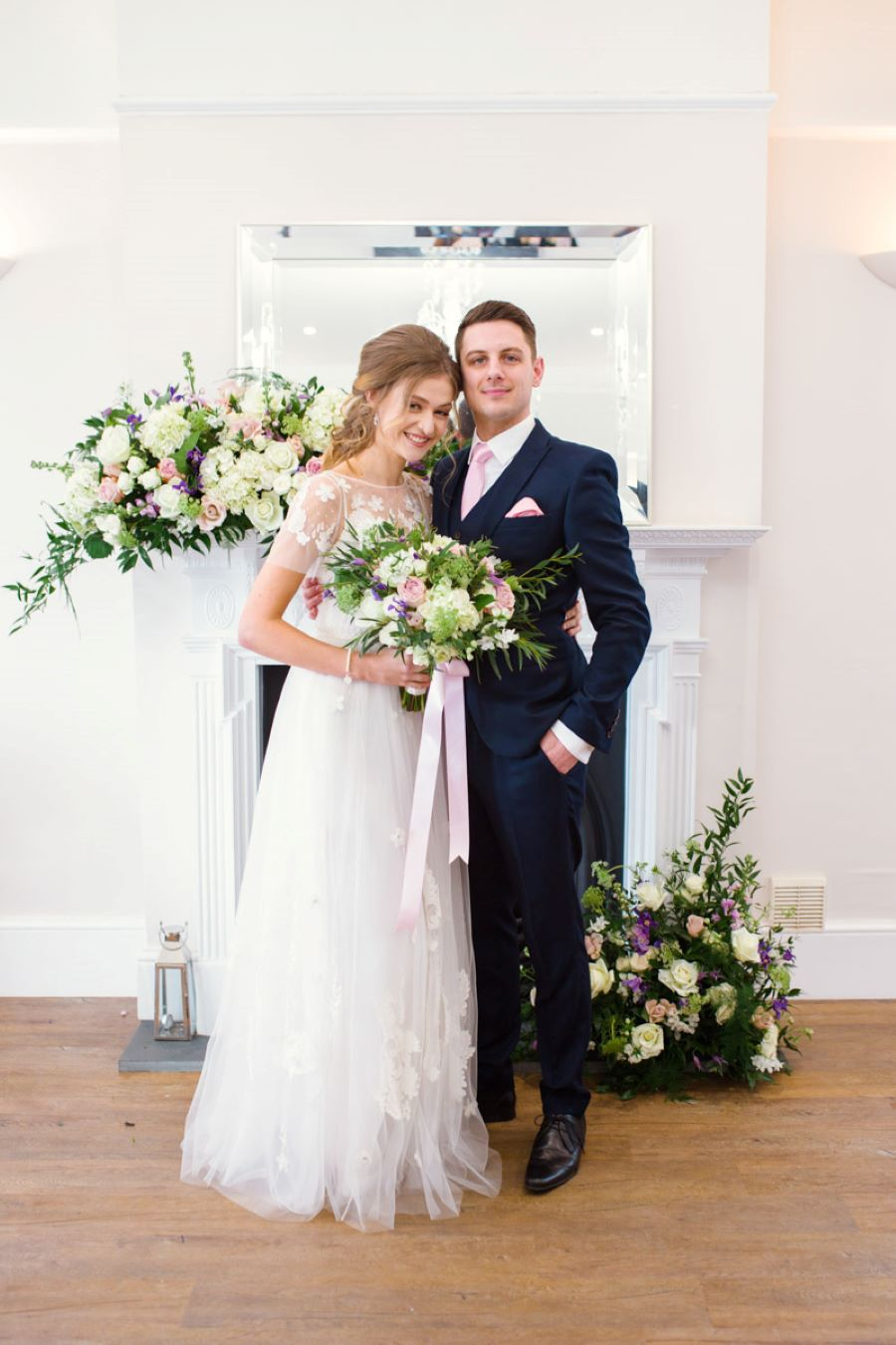 Light and romance with natural blush tones - wedding ideas from Downham Hall. Photographer credit Magical Moments Photography (14)