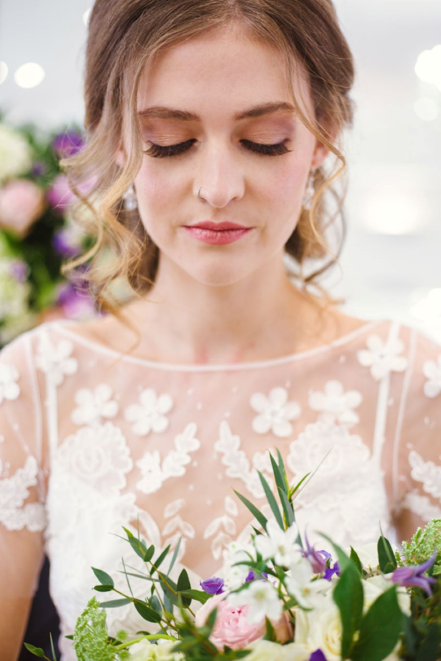 Light and romance with natural blush tones - wedding ideas from Downham Hall. Photographer credit Magical Moments Photography (17)